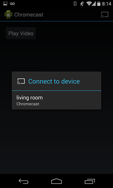 Building an Android Google Cast Sender App