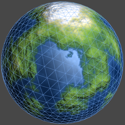 Creating an Octahedron Sphere in Unity