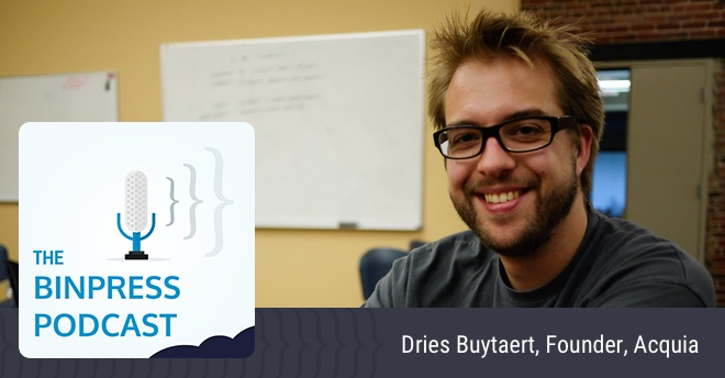 Binpress Podcast Episode 32: Dries Buytaert of Acquia