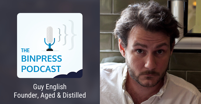Binpress Podcast Episode 37: Guy English of Aged & Distilled