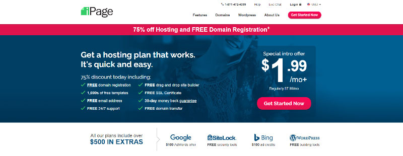 ipage-best-cheap-hosting-multiple-websites