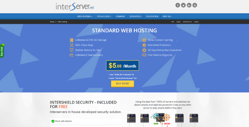 interserver-business-hosting-multiple-websites