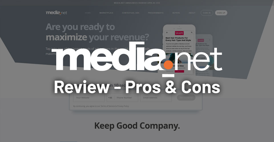Media.net Review – Pros & Cons of Media.net Ads Network