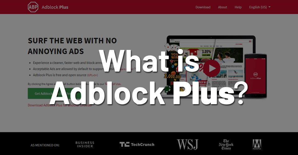 What is Adblock Plus?